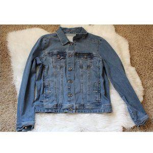 Sonoma Denim Blue Jean Jacket Sz M